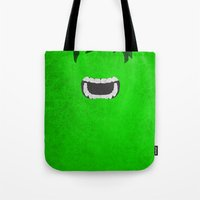 hulk Tote Bags featuring Hulk by theLinC