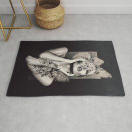 Lady Butterfly Rug