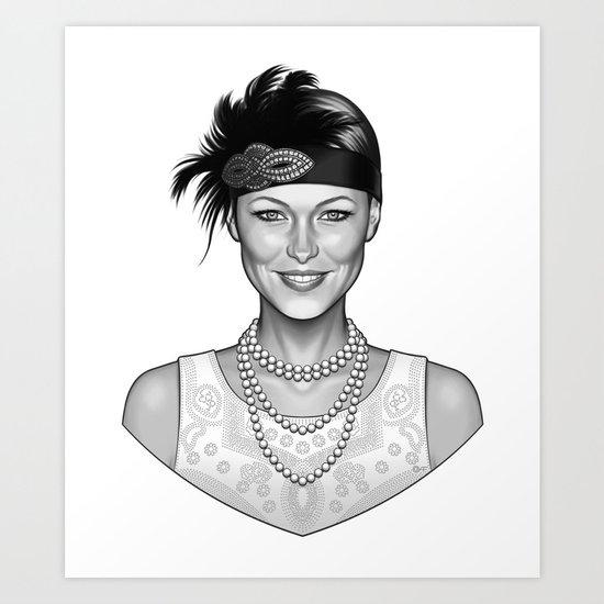Emma's Charm Art Print