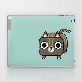 Cat Loaf - Brown Tabby Kitty Laptop & iPad Skin