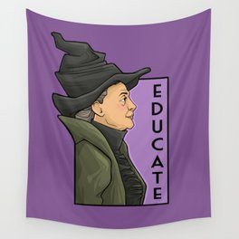 Educate Wall Tapestry