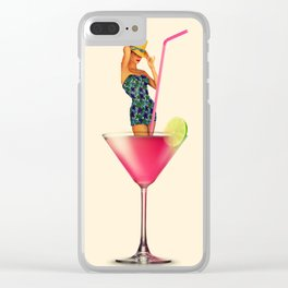 Cosmopolitan Clear iPhone Case