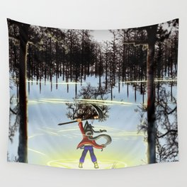 A moment of triumph Wall Tapestry