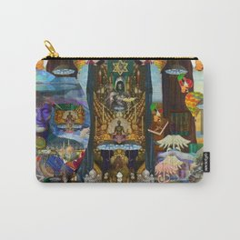 The Golden Cage Carry-All Pouch