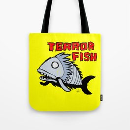 Terror fish Tote Bag