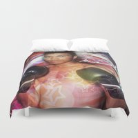 ali Duvet Covers featuring Ali #2 by YBYG