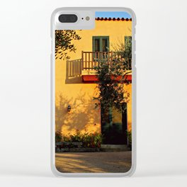 Sardignia Sunset Clear iPhone Case