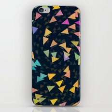 Spirling Triangles iPhone & iPod Skin