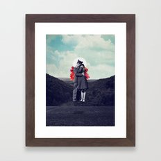 Hold My Breath Framed Art Print