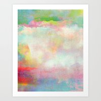 tchmo Art Prints featuring Untitled 20120222n (Cloudscape) by tchmo