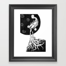 Meditate Framed Art Print