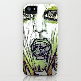 Are You Afraid? iPhone Case