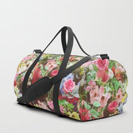 Floral Explosion Duffle Bag