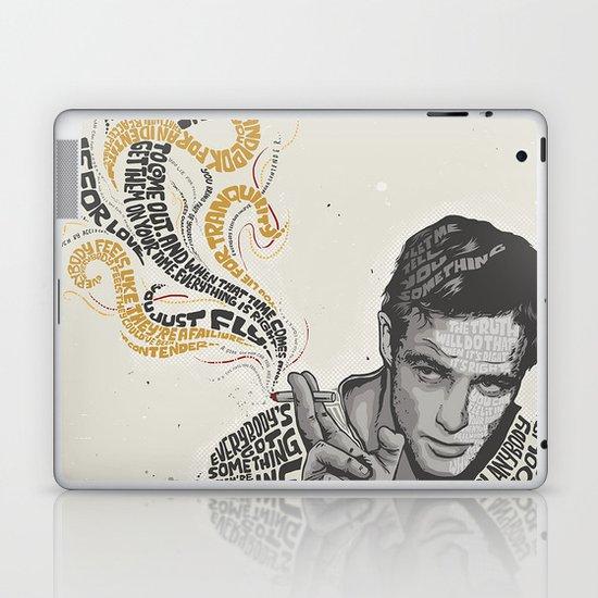 MARLON BRANDO - Quotes Art Laptop & iPad Skin