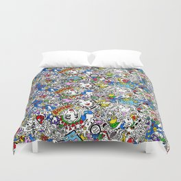 Bouncy Soul Duvet Cover