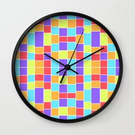 Shapes 001 Wall Clock