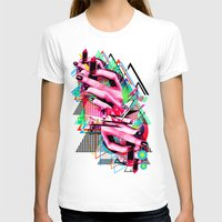 make up T-shirts featuring Make up by DIVIDUS