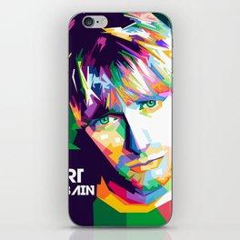 Cobain In Pop Art iPhone Skin