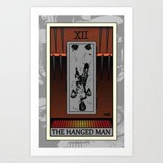 The Hanged Man - Tarot Card Art Print