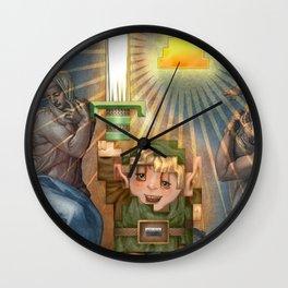 IRL Zelda Link Wall Clock
