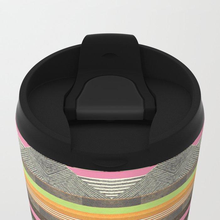 DG Aztec No. 2 Metal Travel Mug