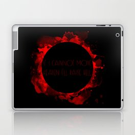 If I cannot move heaven I'll raise hell Laptop & iPad Skin