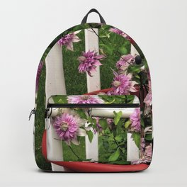 Clematis Josephine Backpack