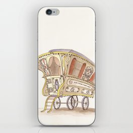 Caravans iPhone Skin