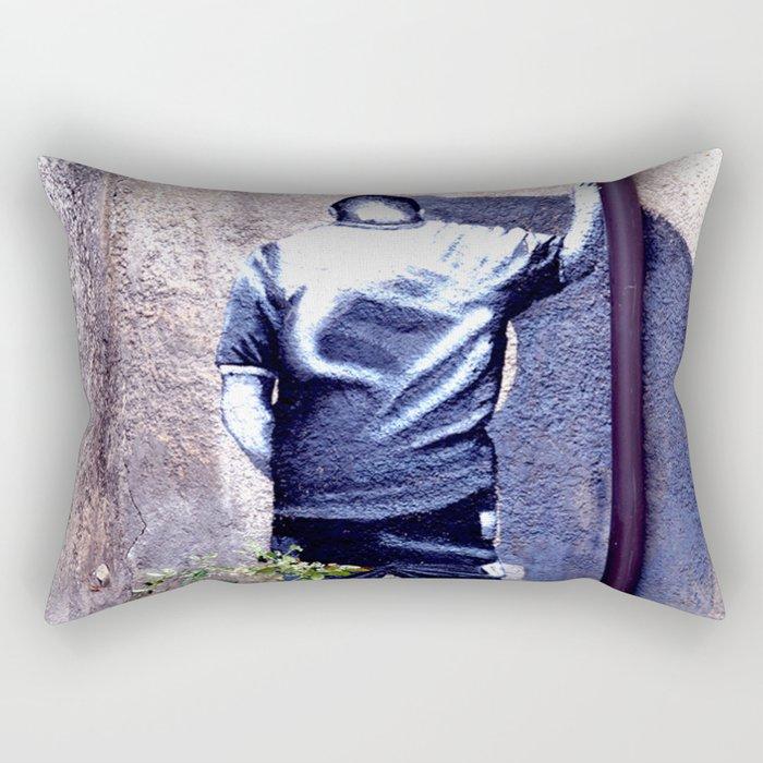 In the corner Rectangular Pillow