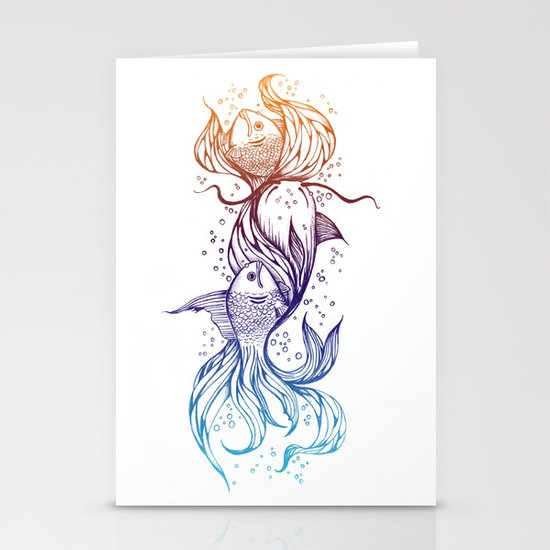 Cascade Stationery Cards