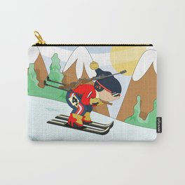 Winter Sports: Biathlon Carry-All Pouch