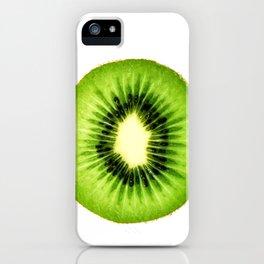Kiwi Fruit Slice iPhone Case