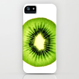 Kiwi Fruit Slice iPhone Case