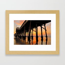 Passion Pier Framed Art Print