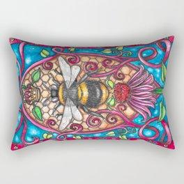 Bee Royalty Rectangular Pillow