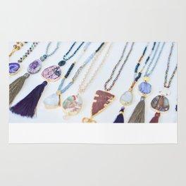 Quest Stones Boho Jewelry Rug