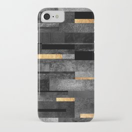 Urban Black & Gold iPhone Case