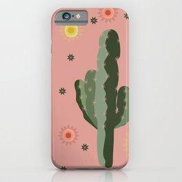 Cactus Patch Desert Sunshine iPhone Case