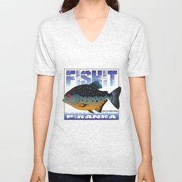 FISHIT Piranha Unisex V-Neck
