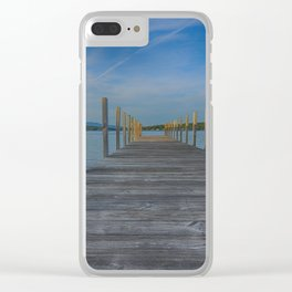 Winnipesaukee Dock Clear iPhone Case