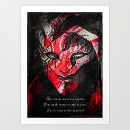 Ergo Proxy Anime Art Print