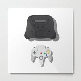 Nintendo 64 Metal Print