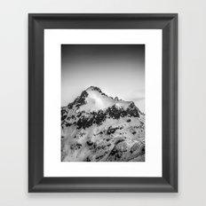 Snow Peak Framed Art Print