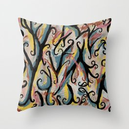 Chaotic Throw Pillow
