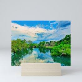 Elizabeth Park Canal Trenton Michigan Mini Art Print