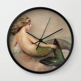 Her Ocean Wall Clock