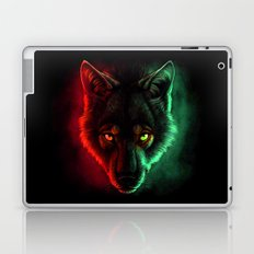 Wolf Aurora Laptop & iPad Skin