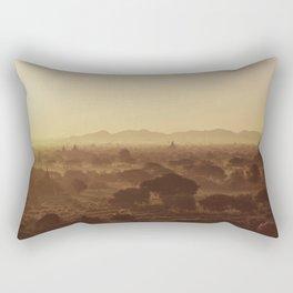 Sunrise in Bagan  Rectangular Pillow