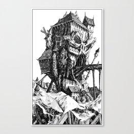 Doom Castle Canvas Print