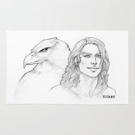 The White Eagle Rug